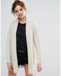 John jenn manon waffle knit cardigan medium 6754726