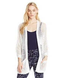 Rd Style Open Stitch Textured Sweater Cardigan With Pockets