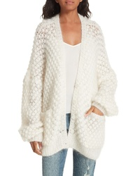 Mes Demoiselles Snow White Knit Cardigan