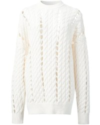 Alexander wang open knit jumper medium 1210591