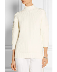 Victoria Beckham Cotton Blend Turtleneck Sweater | Where to buy ...