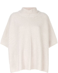 N.Peal Knit High Neck Poncho