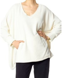 Hue Long Sleeve V Neck Poncho