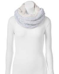 Juicy Couture Cable Knit Cowl Scarf