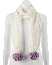 Keds Cable Knit Zigzag Scarf