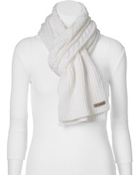 Columbia Cable Knit Oblong Scarf