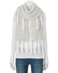 Juicy Couture Fringed Oblong Scarf
