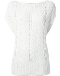 Agnona Knitted T Shirt