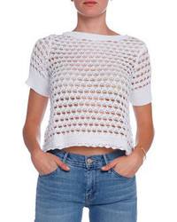 Minnie Rose Santor Knit Top