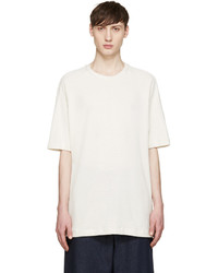 Song For The Mute Off White Knit Raglan T Shirt