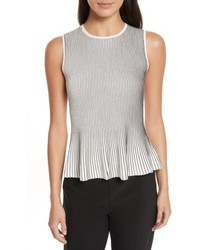 Canelis prosecco sleeveless rib knit top medium 5209315