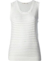 J Brand Open Knit Tank Top