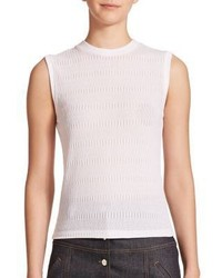 Carven Sleeveless Knit Tee