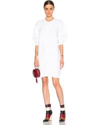 Kenzo Multi Stitch Patten Wool Sweater Dress