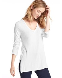 Gap Softspun Knit Slit Tunic