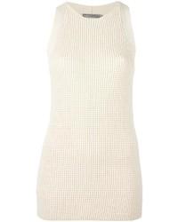 Vince Waffle Knit Sleeveless Tunic