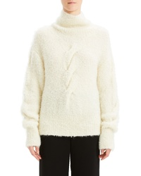 Theory Boucle Cable Sweater