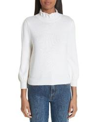 Co Essentials High Llar Wool Sweater