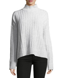 Derek Lam 10 Crosby Long Sleeve Turtleneck Knit Sweater