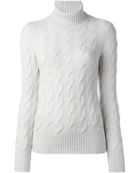 Loro Piana Cable Knit Sweater