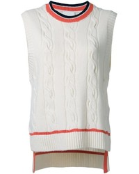 3.1 Phillip Lim Cable Knit Tank Top