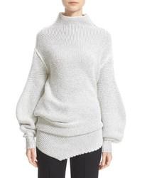 Stella McCartney Asymmetrical Speckle Knit Sweater