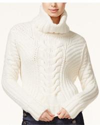 Tommy Hilfiger Tommyxgigi Cable Knit Turtleneck Sweater