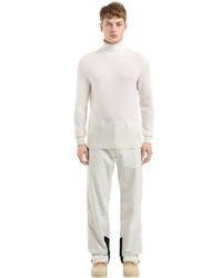 Z Zegna Wool Cashmere Knit Turtleneck Sweater