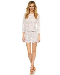 David Lerner 34 Sleeve Lace Dress