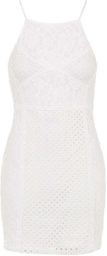 2b2b07ee8101 ... White Lace Bodycon Dresses Topshop Petite Strappy Lace Bodycon Dress ...