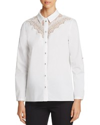 Cher lace yoke blouse medium 1160073