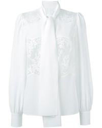 Dolce & Gabbana Lace Insert Blouse