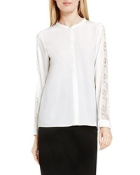 Lace trim blouse medium 1160067