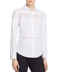 ef225b60009c67 Women's White Button Down Blouses from Bloomingdale's   Women's ...