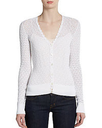 Dolce gabbana crocheted lace cardigan medium 38261