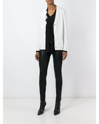 Ermanno scervino lace detail cardigan medium 708236