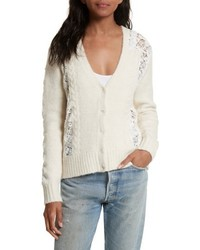 Lace lace inset sweater medium 4950510