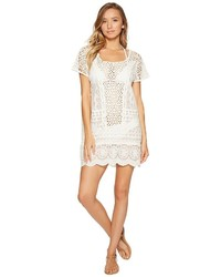 Polo Ralph Lauren Crocheted Lace Tunic Cover Up Swimwear