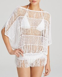 Trina Turk French Lace Swim Cover Up Tunic