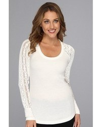Lucky Brand Bobbi Lace Inset Thermal