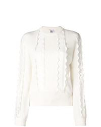 Chloé Ribbed Lace Jumper