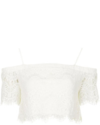3ccc643949c909 Women's Lace Cropped Tops by Topshop | Women's Fashion | Lookastic.com