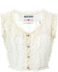Vintage lace frill waistcoat medium 424972