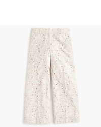 J.Crew Collection Gazebo Pant In Austrian Lace