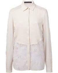 Elie Saab Lace Detail Shirt