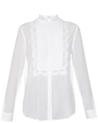 Givenchy Embroidered Silk Blouse
