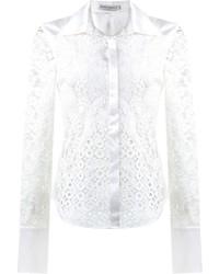 Martha Medeiros Lace Patchwork Shirt