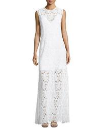 Diane von Furstenberg Sleeveless High Neck Fluid Dress