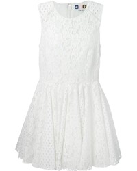 MSGM Flared Lace Dress