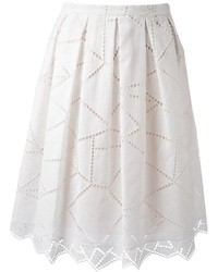 Christopher Kane Geometric Lace Skirt
